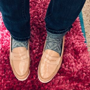 🆕Cole Haan Classic Pinch Loafers Beige GUC 10
